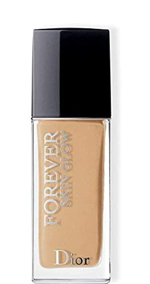 サイズ反発ヘルメットクリスチャンディオール Dior Forever Skin Glow 24H Wear High Perfection Foundation SPF 35 - # 3WO (Warm Olive) 30ml/1oz並行輸入品