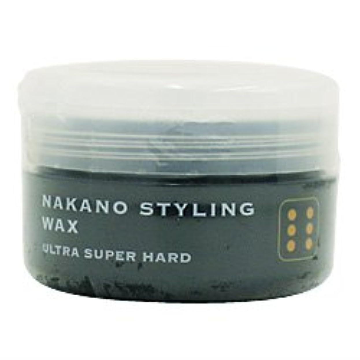 コンサルタント瞬時に驚くべきナカノ スタイリングワックス 6 ウルトラスーパーハード 90g 中野製薬 NAKANO