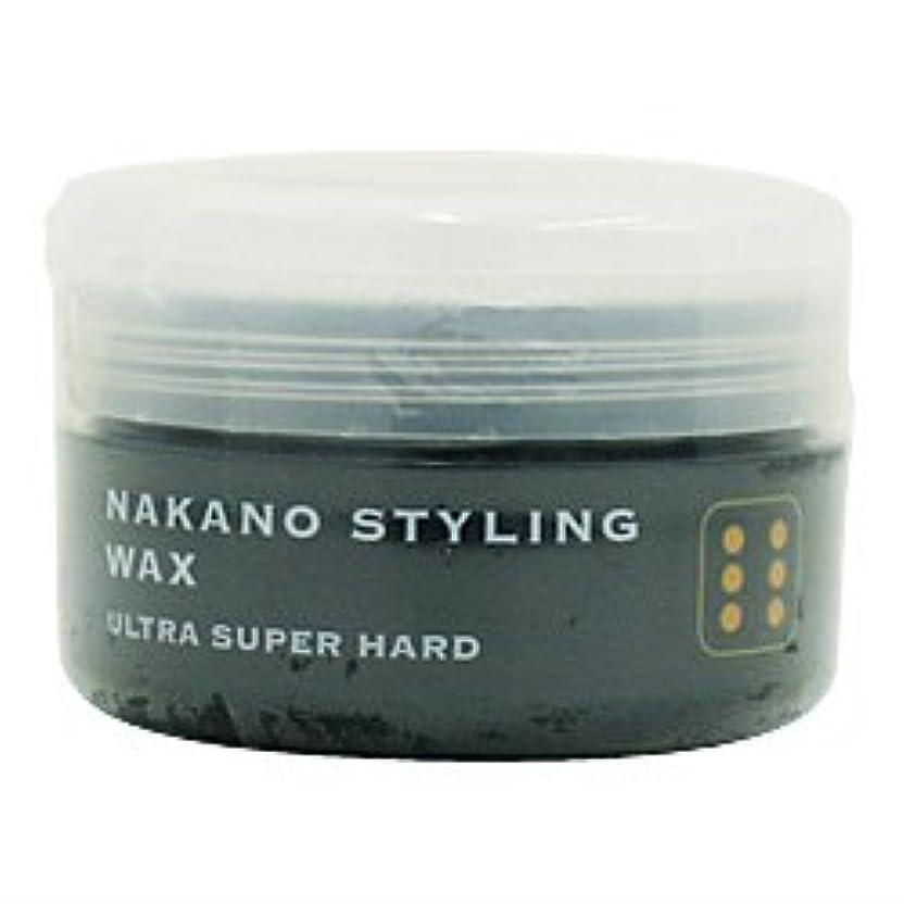 非難するハチ冷蔵するナカノ スタイリングワックス 6 ウルトラスーパーハード 90g 中野製薬 NAKANO