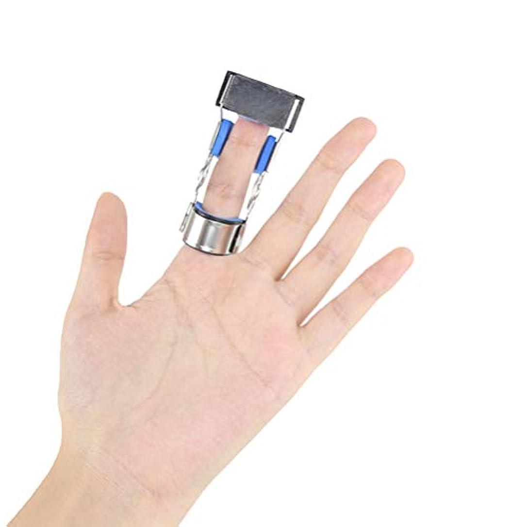 植物のラケットシードHealifty骨折した指の添え木ガード壊れた指固定ブレースプロテクター指固定サポート