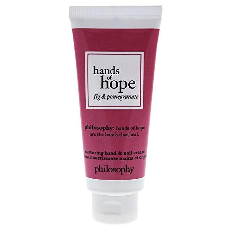 不健康ごみディレイフィロソフィー Hands of Hope Fig & Pomegranate Hand & Nail Cream 30ml/1oz並行輸入品