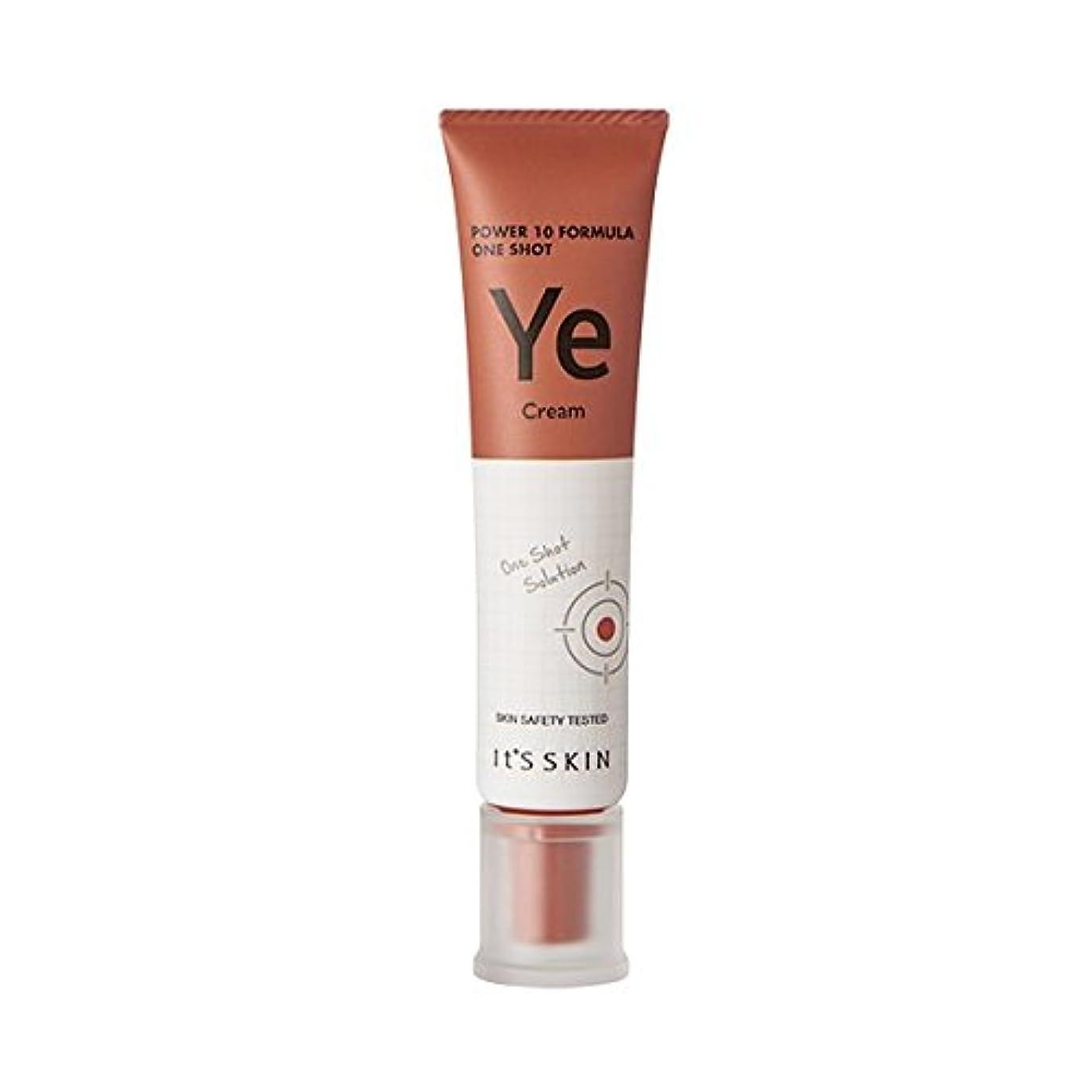 甘味いわゆる鎮静剤[New] It's Skin Power 10 Formula One Shot Cream (Ye) / イッツスキンパワー10 フォーミュラワンショットクリーム [並行輸入品]