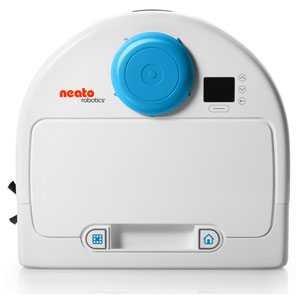 ネイトロボティクス ロボット掃除機 (ホワイト&ラグナブルー)...