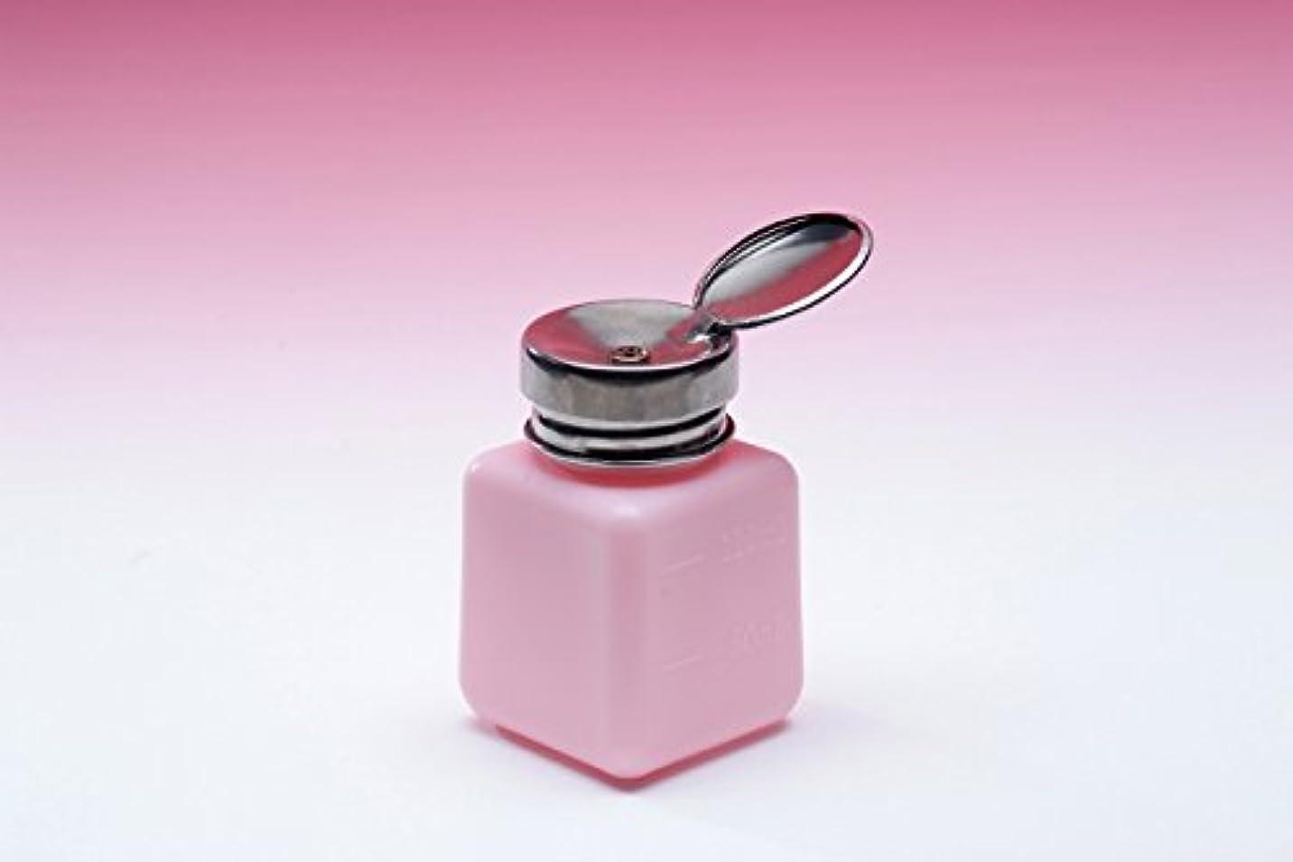 どんなときも硬化する契約するポンプディスペンサー【ピンク】