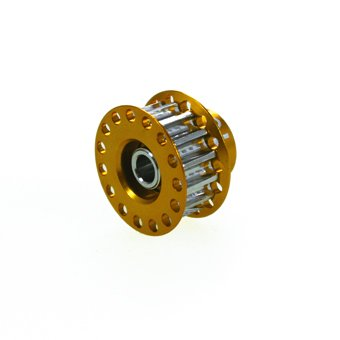이글 모형 TT02FRD용 모터 pinion pulley15T(GO) #TT02FRD20-15-GO-TT02FRD20-15-GO