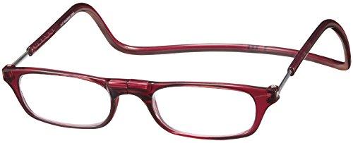 (クリックリーダー)Clic Readers 老眼鏡 ボルドー +1.00 老眼