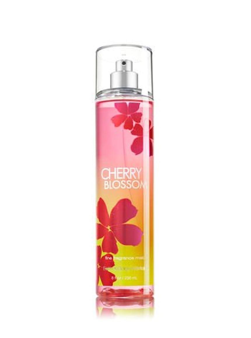 配列内向き寺院【バス&ボディワークス】 Fine Fragrance Mist/ファインフレグランスミスト Cherry Blossom [海外直送品]