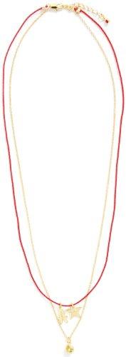 [シェリー] shellie initials(イニシャル) A×ペリドット ネックレス 1607-1