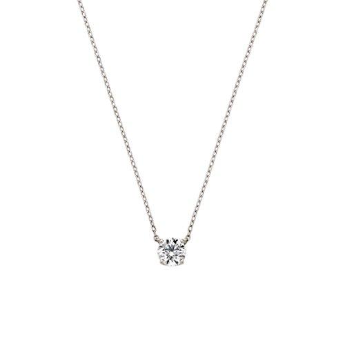 [ヴァンドーム青山] VENDOME AOYAMA 【DI品質保証カード付】Pt950 プラチナ エクセレントカット ダイヤモンド 0.27ct キャトル ネックレス APVN161343DI