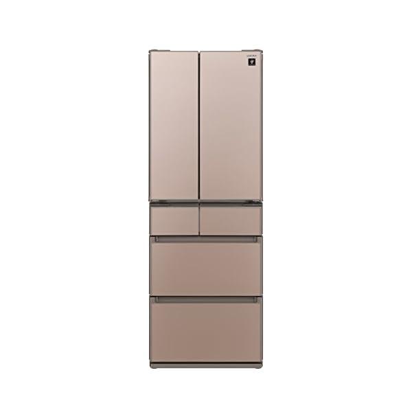 シャープ 冷蔵庫 フレンチドア[ ガラスドアタイ...の商品画像