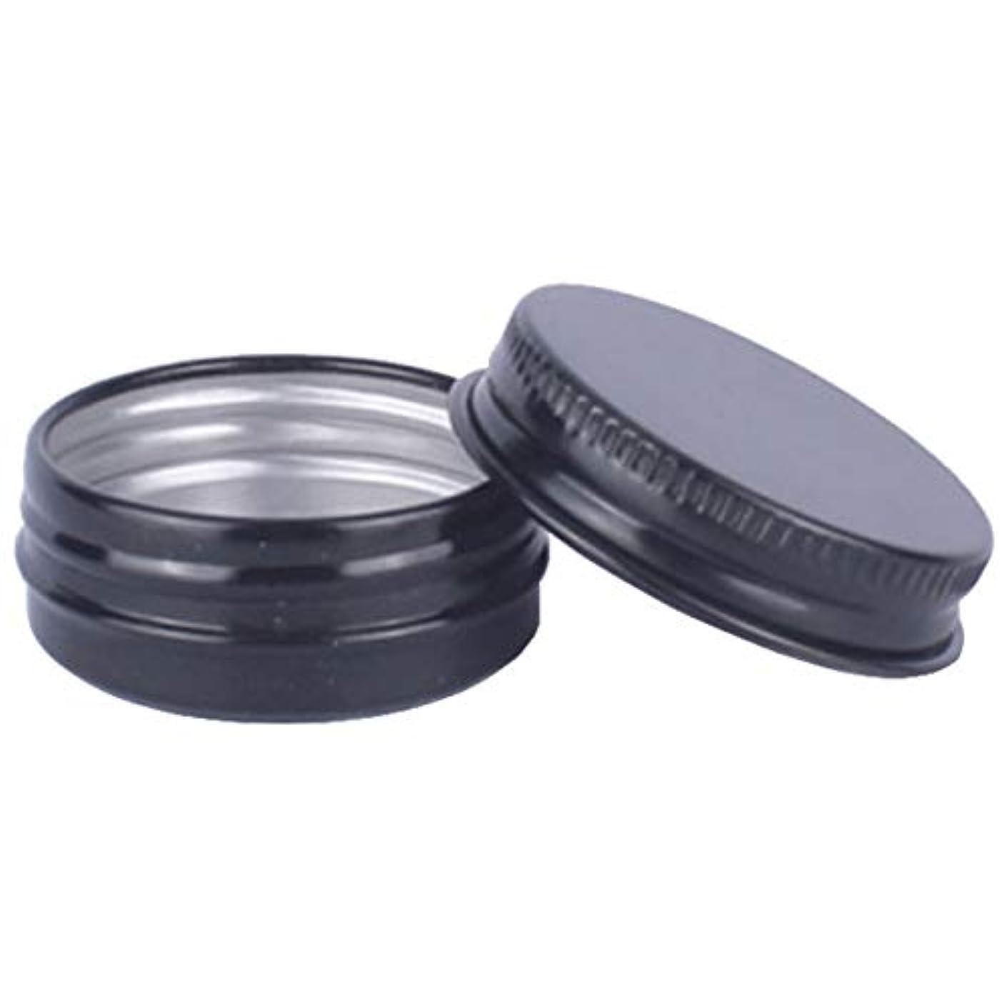 黒人報酬六月フェリモア アルミネジキャップ缶 詰め替え容器 クリーム 小分け容器 アルミ製 缶 30個セット