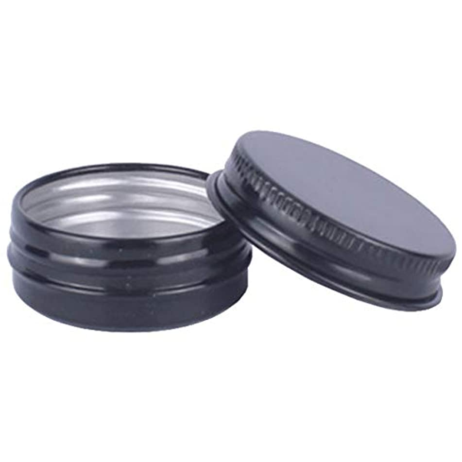 八百屋さんスクリーチプラスチックフェリモア アルミネジキャップ缶 詰め替え容器 クリーム 小分け容器 アルミ製 缶 30個セット