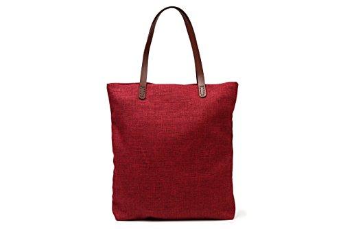 9c083e50b27f T-SELECTIONSキャンバストートバッグ ローズレッド 当商品は大人気8色トートバッグのカラー部分だけで作った贅沢なトートバッグです。  その風合いは柔らかくそして ...