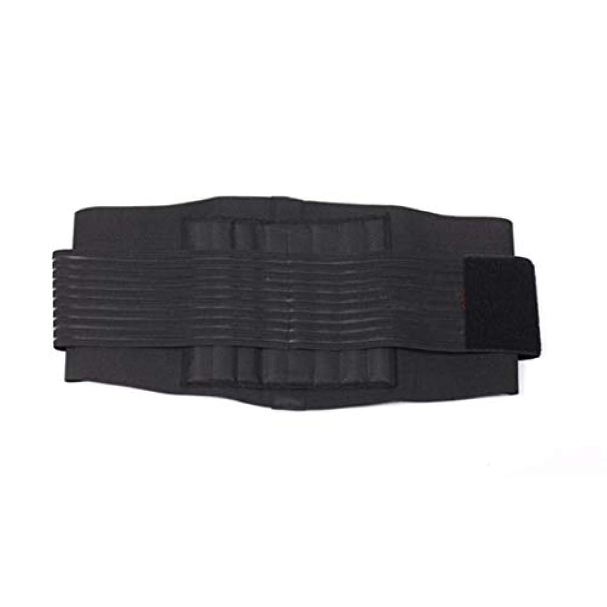 打撃バックアップ定説補正ベルトスチールウエストサポートブレース弾性腹部保護-Rustle666