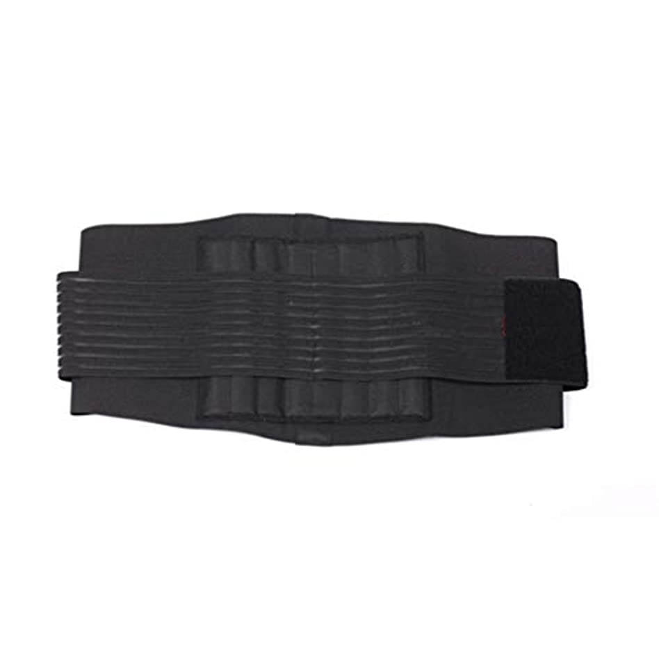 学部下線貧しい補正ベルトスチールウエストサポートブレース弾性腹部保護-Rustle666