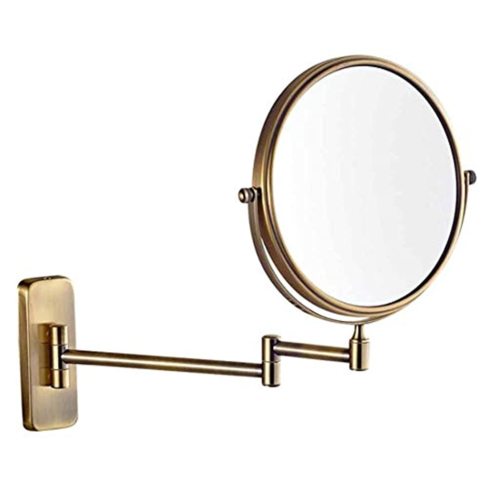 気怠いエゴイズム蒸発3倍(5倍、7倍、10倍)拡大壁掛けバスルーム化粧鏡ミラー両面シェービング化粧鏡,5X,20cm