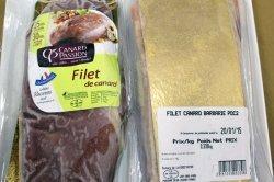 6パック入り フランス産バルバリー種ロース 1パック約300g〜 (Duck Breast) 冷凍品