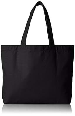 [ユナイテッドアスレ] UnitedAthle (ユナイテッドアスレ)14.3オンス キャンバス トートバッグ(大) 151801 ブラック (ブラック)