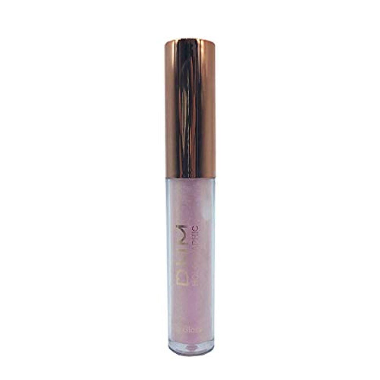 配列オフセット怠惰リップクリーム 液体 キラキラ ピンク 紫系 軽い 口紅 唇 リップバーム 光沢 分極 防水 長続き リップラインの色を鮮やかに描くルージュhuajuan (D)