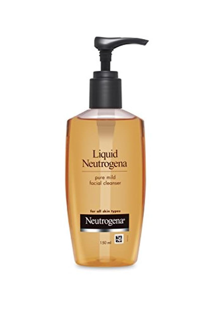財政不毛の間隔Liquid Neutrogena (Mild Facial Cleanser), 150ml