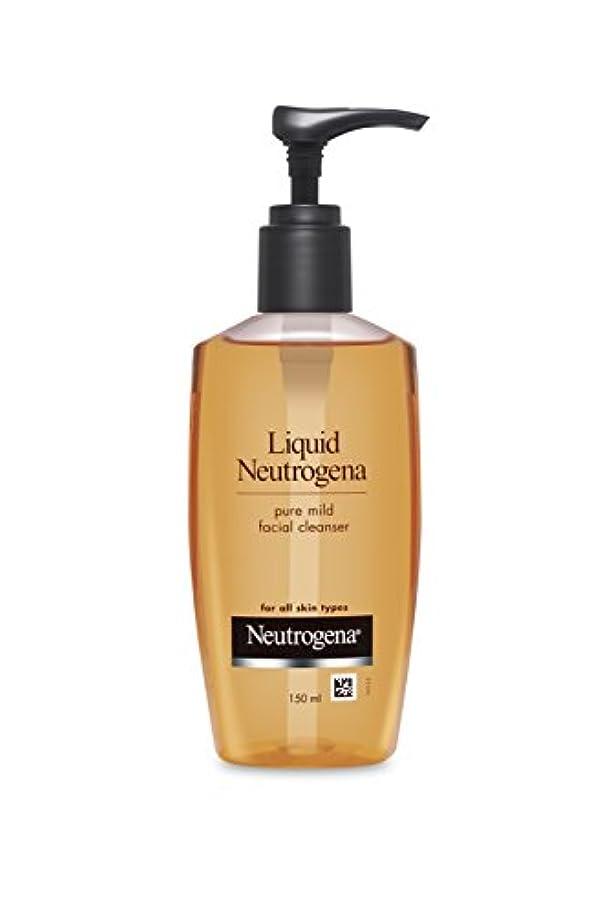 引き出し苦行ピストルLiquid Neutrogena (Mild Facial Cleanser), 150ml