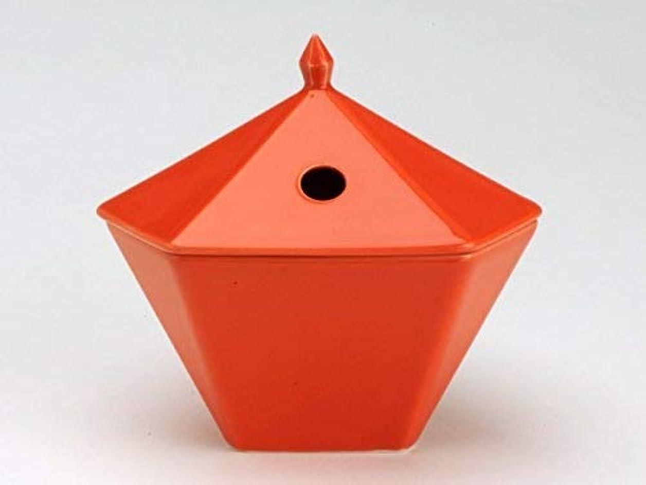 ガラスイノセンス遠え縁香炉 橙