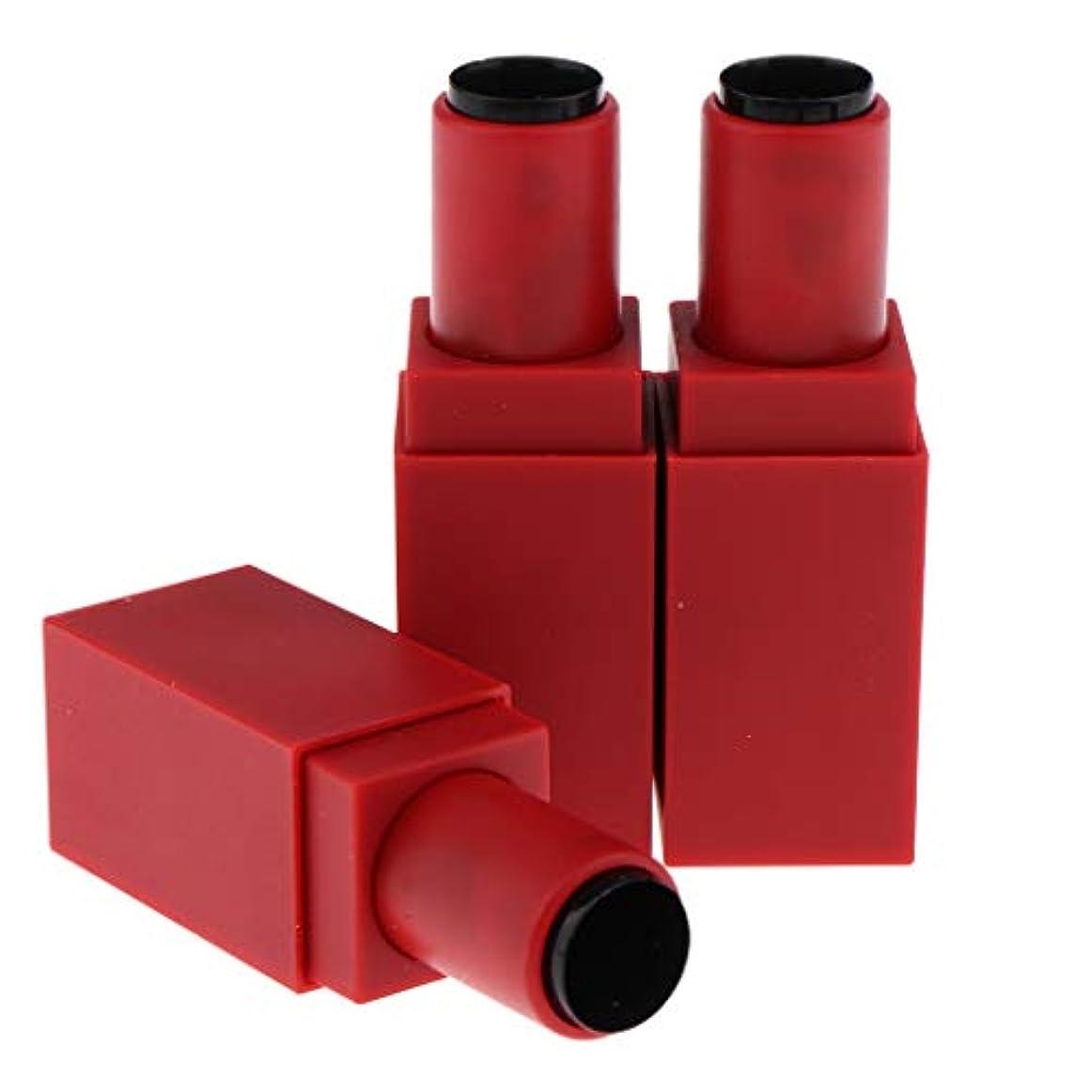メールを書く割り込み溶けたDYNWAVE 12.1ミリメートル空の手作り口紅チューブリップクリームボトルコンテナ - 赤