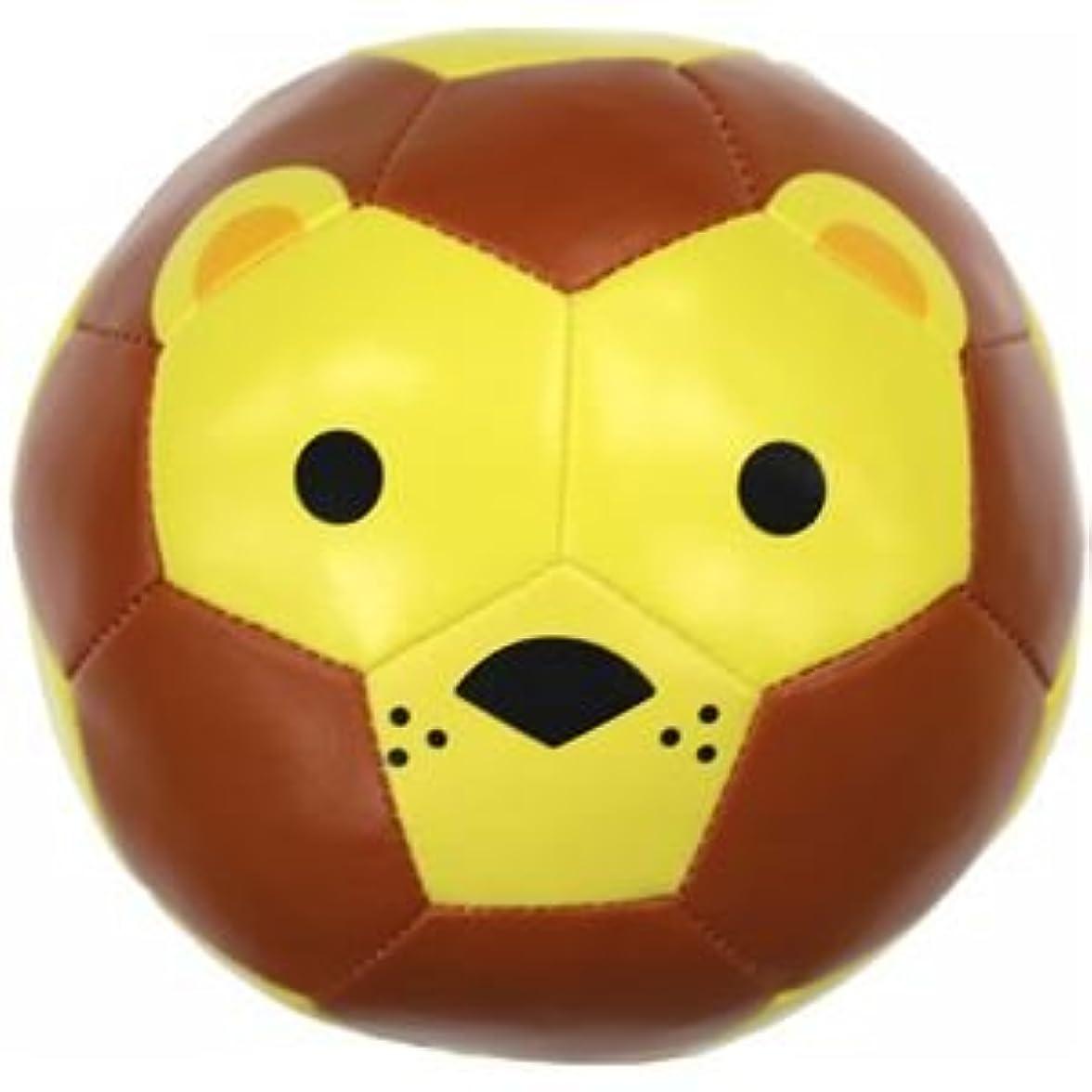 浸漬集中的な社会科SFIDA(スフィーダ) クッションボール Football Zoo Baby ライオン 1号球