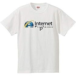 南堀江のおもしろtシャツ 「Internet Explorer」 パソコン インターネット ゲーム IT/PC系ネタ おもしろTシャツ