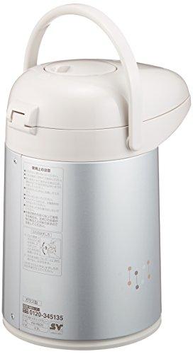 象印 ( ZOJIRUSHI ) ガラス魔法瓶2.2L メタリックグレー AB-RB22-HM