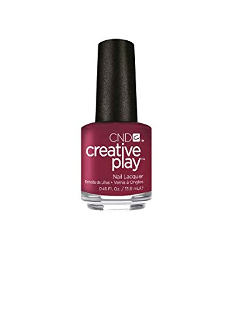 コントラストジャンク思春期CND Creative Play Lacquer - Berry Busy - 0.46oz / 13.6ml