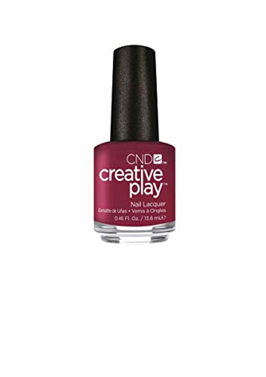 立方体首謀者汚染されたCND Creative Play Lacquer - Berry Busy - 0.46oz / 13.6ml