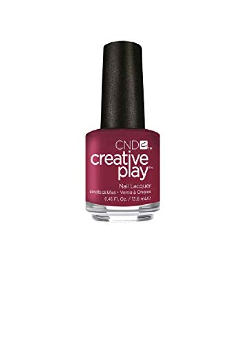 カプセル価格浸したCND Creative Play Lacquer - Berry Busy - 0.46oz / 13.6ml