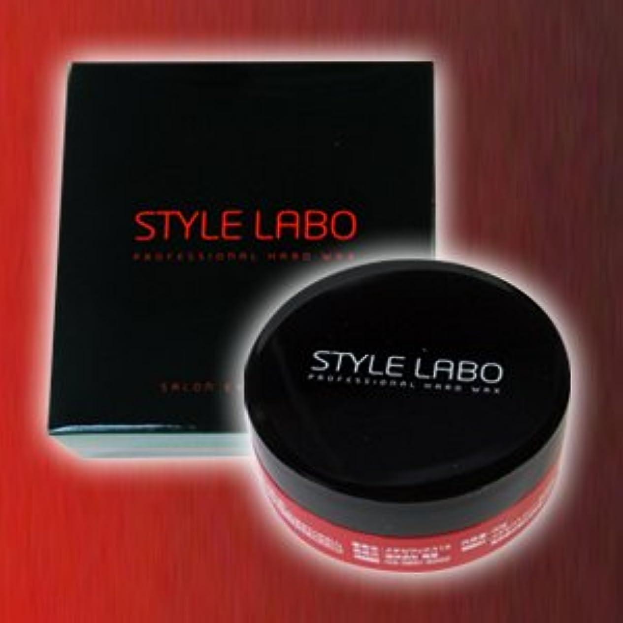 接続詞サンダルワックスSTYLE LABO スタイルラボ ハードワックス 30g <化粧箱付>