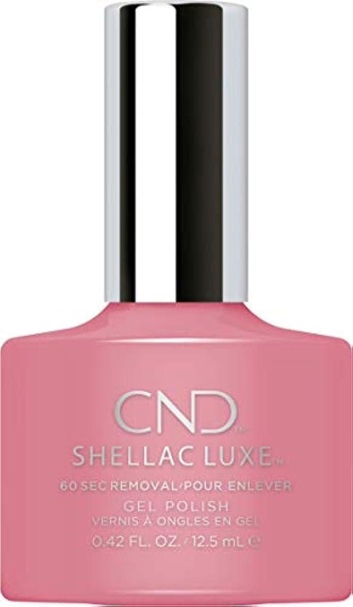 ディスク置くためにパックハイキングCND Shellac Luxe - Rose Bud - 12.5 ml / 0.42 oz