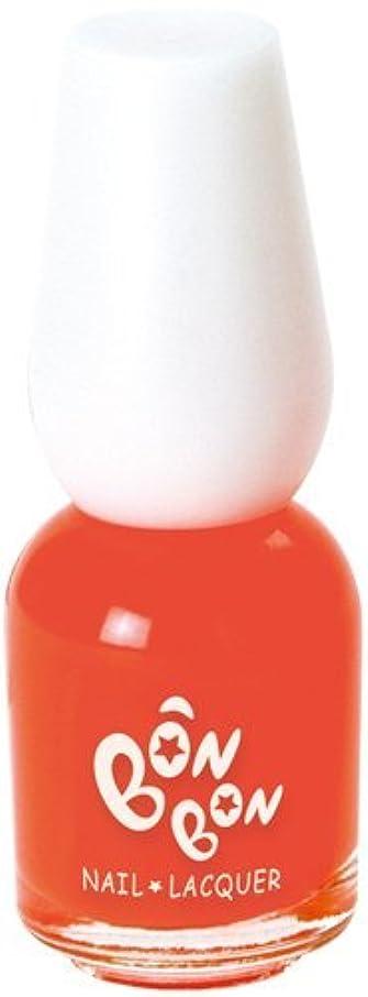 バルコニーできないくまボンボン ネイルラッカー 31 オレンジ