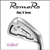 RomaRo ロマロ アイアン 【Ray V Iron】 #5~PW 6本セット 【RJ-Ti3(シャフトラボ社製)】 装着モデル(完成品)