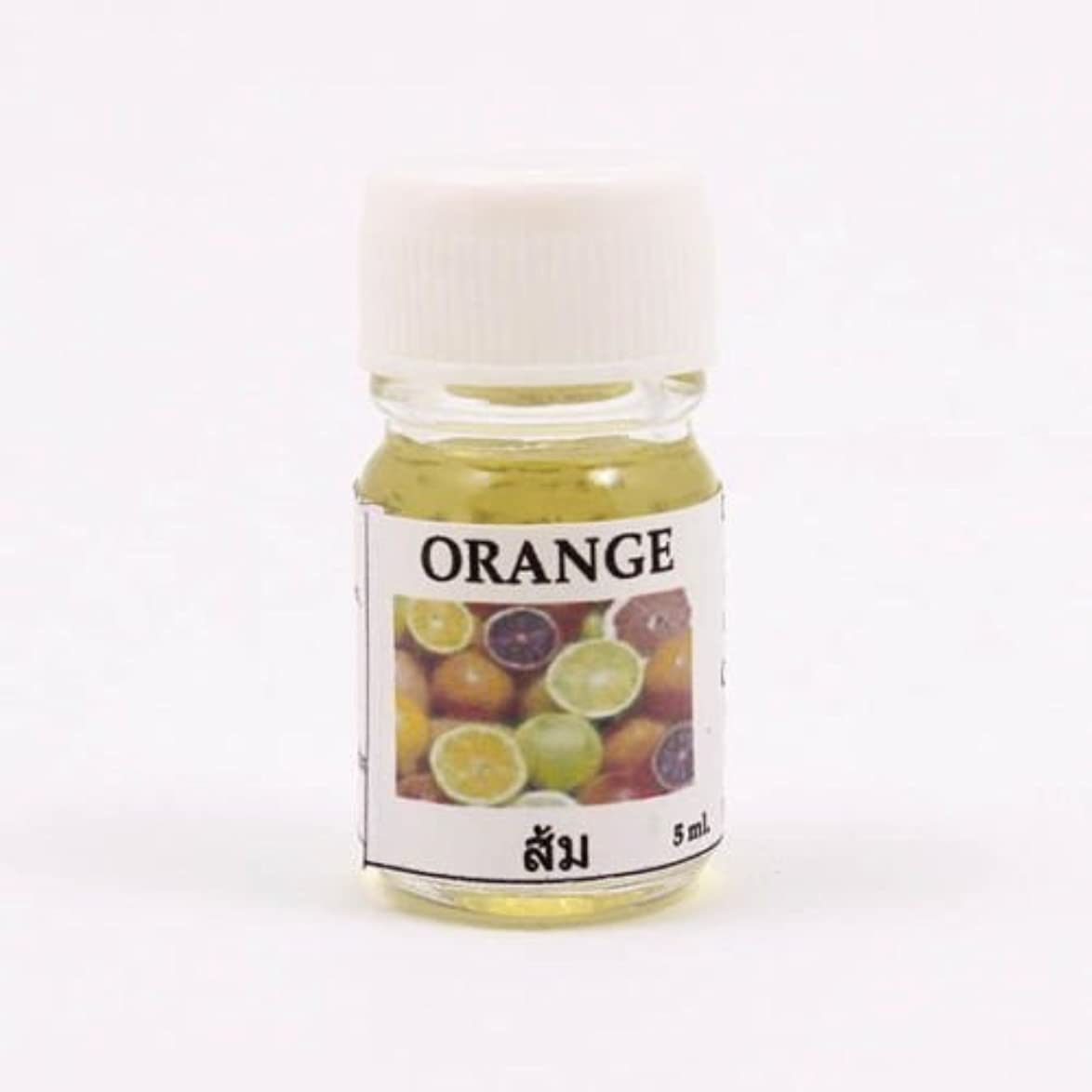 6X Orange Aroma Fragrance Essential Oil 5ML. (cc) Diffuser Burner Therapy