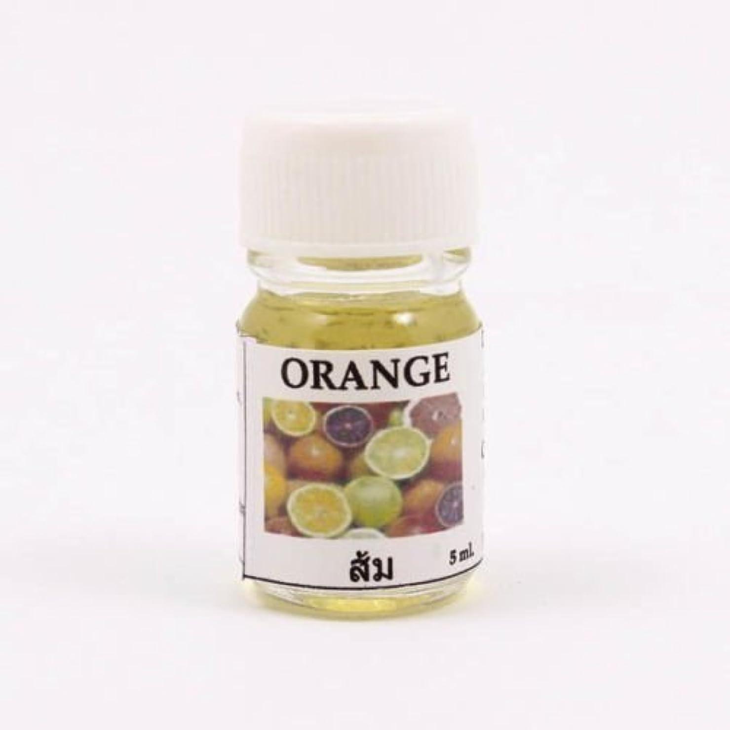 テクスチャー精算連続した6X Orange Aroma Fragrance Essential Oil 5ML. (cc) Diffuser Burner Therapy