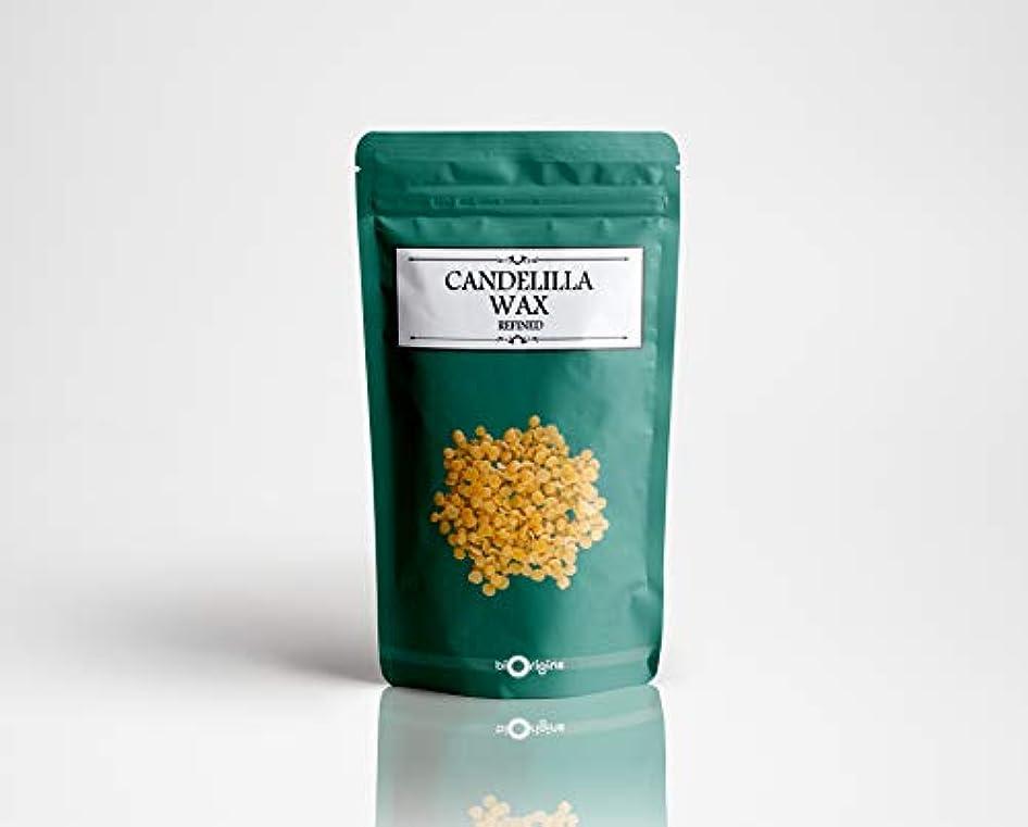 顕著日曜日買収Candelilla Wax 100g