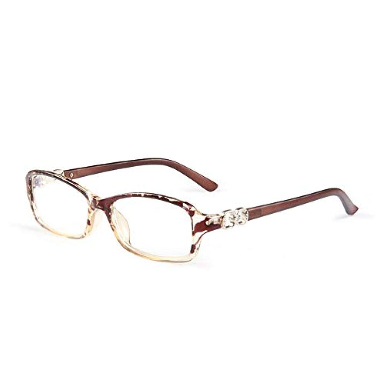 暴力杭コンテストスタイリッシュなアンチブルー老眼鏡、女性用の快適な遠視メガネ、Hd樹脂レンズ、疲労防止および放射線防護、超軽量老眼鏡