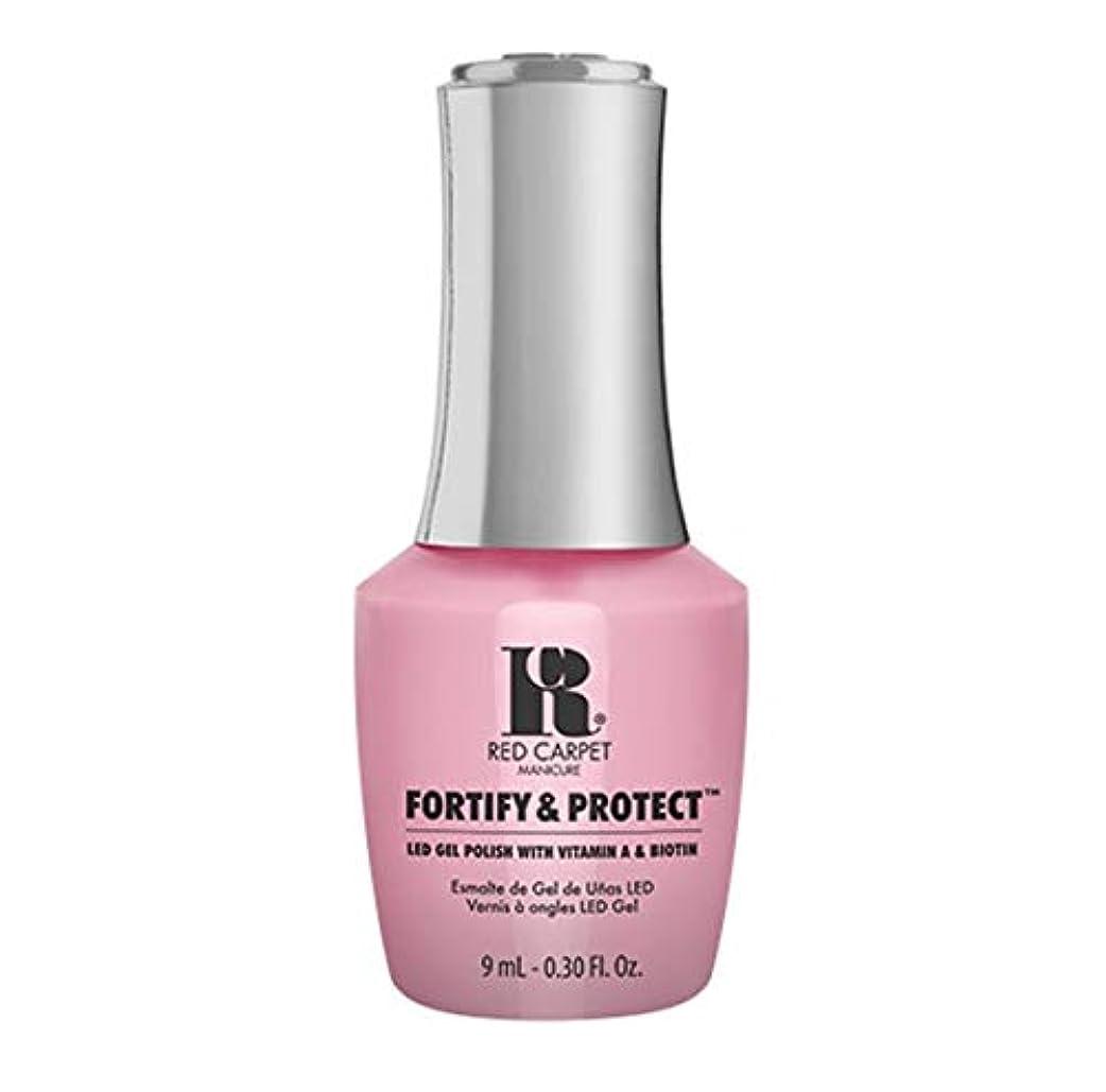 甥確立しますオーガニックRed Carpet Manicure - Fortify & Protect - Top Billed Beauty - 9ml / 0.30oz