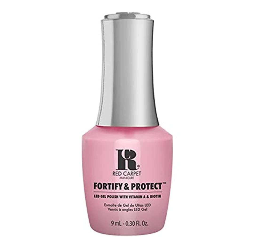 自由ダイヤモンド適度にRed Carpet Manicure - Fortify & Protect - Top Billed Beauty - 9ml / 0.30oz