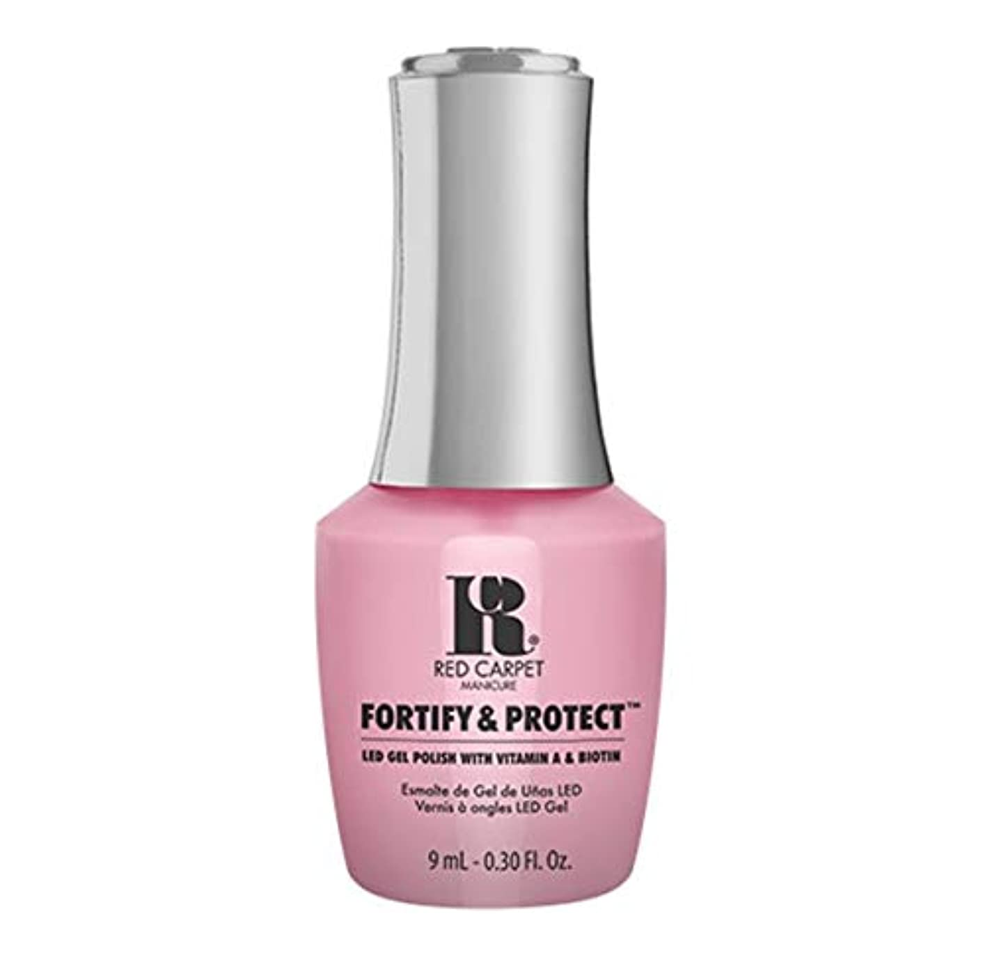 透明に夕食を食べる肝Red Carpet Manicure - Fortify & Protect - Top Billed Beauty - 9ml / 0.30oz