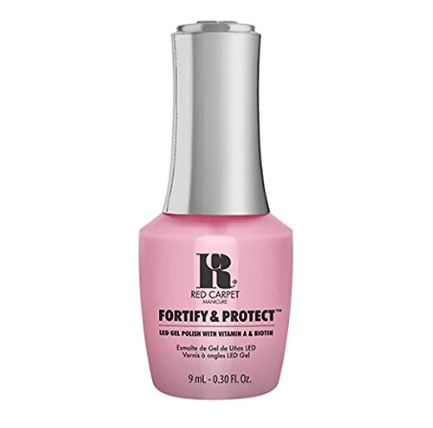強調するターゲット容疑者Red Carpet Manicure - Fortify & Protect - Top Billed Beauty - 9ml / 0.30oz