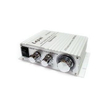 Lepai デジタルアンプ LP-2020A Tripath TA2020-020 シルバー