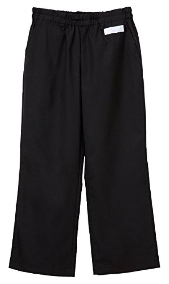 聖書祭司臭い医療向け 男女兼用パンツ ブラック サイズ:M SL-5093 ナガイレーベン