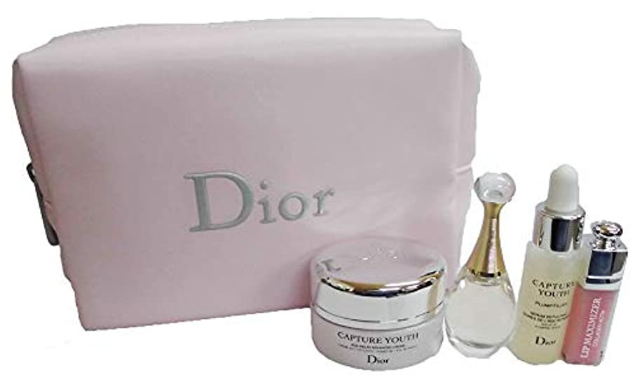 最悪温帯大量ディオール Dior カプチュール ユース ジャドール マキシマイザー ポーチ セット ピンク