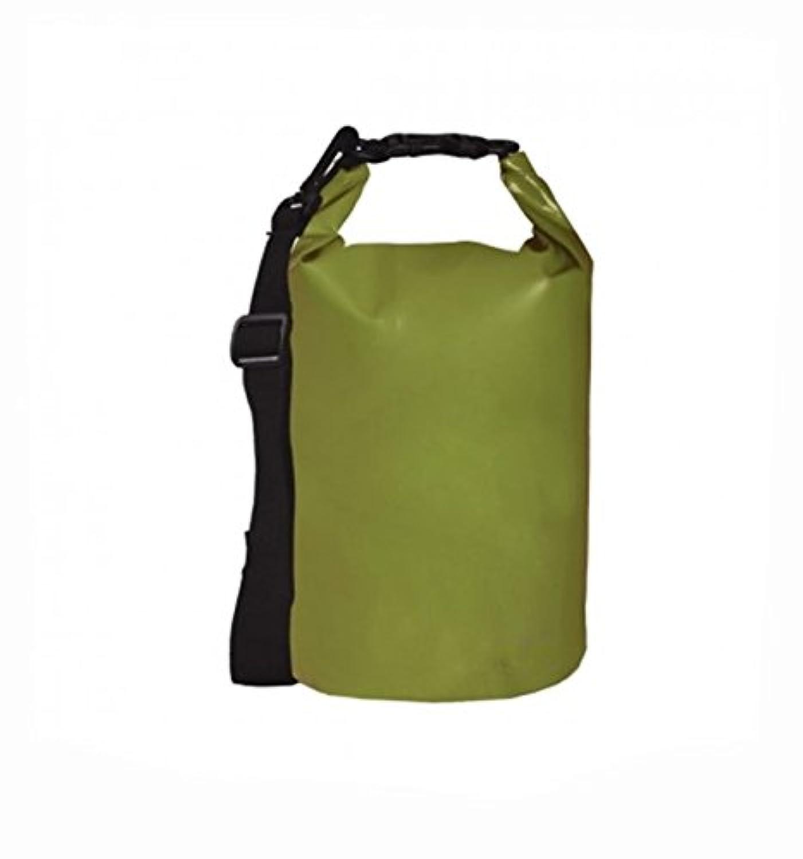 Fiddlehead ~グリーン2l – Heavy Duty防水フローティングドライバッグ – ロールトップ部圧縮Sacks – Be Ready for Your Nextキャンプ、Paddling、カヤック、ハイキング冒険