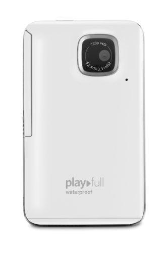 コダック kodak PlayFull ze2 ウォータープルーフビデオカメラ ホワイト 輸入品